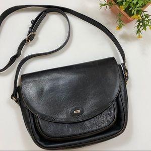 Bally Vintage Leather Crossbody Bag